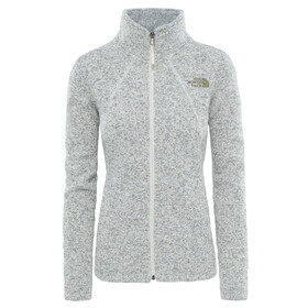 """The North Face W's Crescent Fleece Jacket White Heather"""